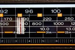 Stations de radio Image libre de droits
