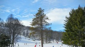 Stations de sports d'hiver de Boyne Image stock