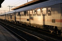 stationsdrev Royaltyfri Foto