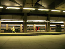 stationsgångtunnel Royaltyfria Bilder