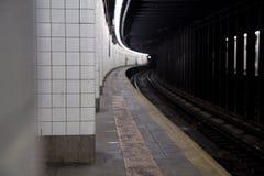 stationsgångtunnel Fotografering för Bildbyråer