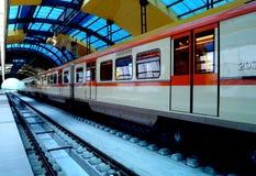 stationsgångtunnel Royaltyfri Foto