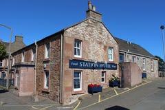 Stationshotell, Carnoustie, Angus, Skottland Arkivbilder