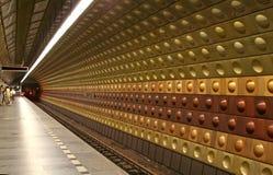stationstunnelbana Royaltyfri Foto