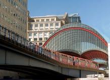 stationstunnelbana Arkivfoto