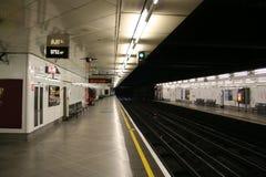 stationstunnelbana Fotografering för Bildbyråer