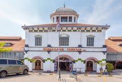 StationTawang在三宝垄,西爪哇省,印度尼西亚 库存照片