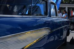 1957 stationwagon de Chevy, belair Photographie stock