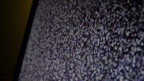 Statisch lawaai van het trillen stock video