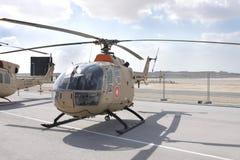 Statische vertoning van Klok 105, Bahrein Airshow 2012 Stock Foto's