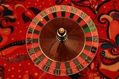 Statisk roulett i kasino arkivfoton