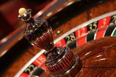 Statisk roulett i kasino arkivfoto