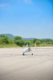 Statiskt slut för UAV upp fotoet Royaltyfri Fotografi