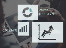 Statistic Analysis Business Diagram Data Growth Concept Royalty Free Stock Image