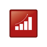 Statistic graph report Stock Photos