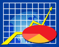 Statistic Grid Stock Photo
