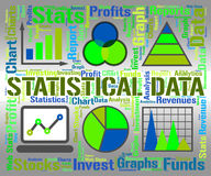 Statistical Data Represents Infograph Graphic And Chart Royalty Free Stock Image