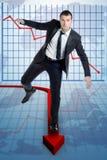 Statistiche di rischio Immagine Stock