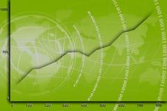 Statistiche di Web Fotografia Stock Libera da Diritti