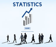 Statistics Analysis Business Data Diagram Growth Concept Royalty Free Stock Images