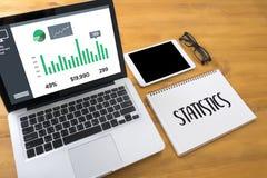 Statistics Analysis Business Data Diagram Growth Increase Market Stock Photography