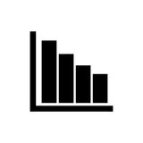 Statistics bars data Stock Photo