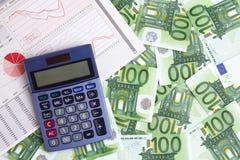 Statistics and benefits Royalty Free Stock Photos