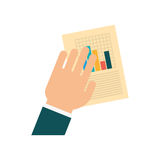 Statistics chart report Royalty Free Stock Images