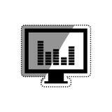Statistics chart report Royalty Free Stock Photos
