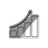 Statistics chart report Stock Images