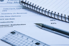 Statistics Income Statement Stock Images