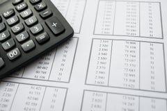 Statistics macro Stock Photography