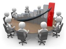 Statistics Meeting Royalty Free Stock Image