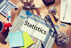 Statistics Stats Analysis Research Economic Financial Concept Royalty Free Stock Images