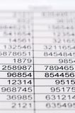 Statistics and tables Stock Photos