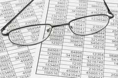 Statistics and tables Royalty Free Stock Images