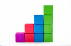 Statistiekenblok Stock Foto's