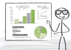 Statistik Imagem de Stock