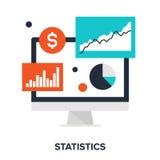 statistik vektor illustrationer