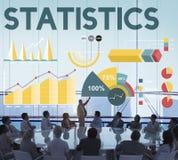Statistik-Prozentsatz-Geschäfts-Diagramm-Konzept Stockfotografie