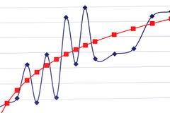 Statistiken Stockfoto