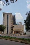 Statistiken bringen in Kampala unter Stockfotos