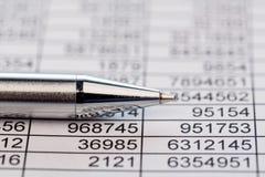 Statistiken und Tabellen Lizenzfreie Stockfotos