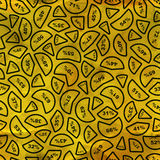 Statistiksymbole. Nahtloses Muster. Vektor Abbildung