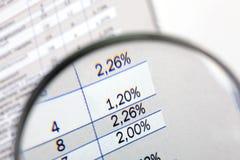 Statistique Photographie stock libre de droits