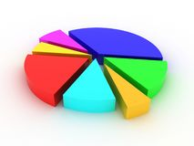 Statistiques Images stock