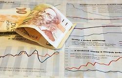 Statistiques financières photo libre de droits