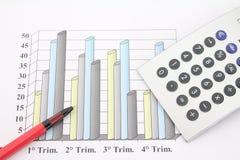 Statistisch Stock Foto