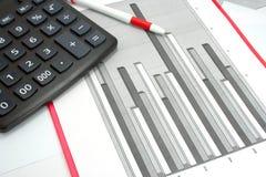 Statistische cijfers Stock Afbeelding