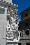 Statiue在威尼斯,意大利 免版税库存图片